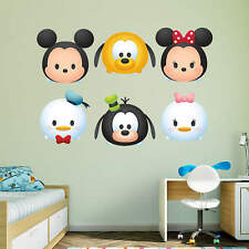 Mickey Mouse & Friends Vinyl Removable Wall Art Remove Decal Stickers Tsum Super