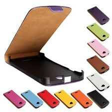 NEW, Genuine leather Flip Case Cover Skin Open up Protector for HTC ONE S