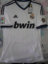 BNWT ADIDAS REAL MADRID 2012-13 HOME FOOTBALL SOCCER JERSEY MEN'S SIZES