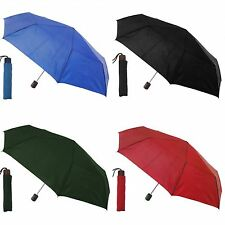 Womens/Ladies Supermini Small Umbrella With Wooden Handle