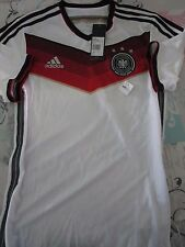 BNWT ADIDAS AUTHENTIC GERMANY 2014 WORLD CUP ADIZERO Home Jersey Men's Sizes