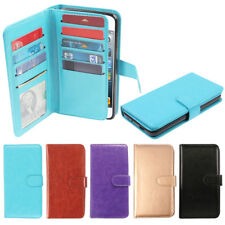 For Apple iPod Touch 5 5th 6 6th Gen Card Slot Holder Magnetic Wallet Cover Case
