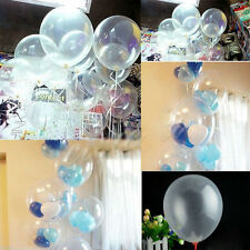 Wholesale 10/50/100 Transparent Latex Balloons Birthday Wedding Party Decor 10""