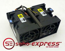 DELL POWEREDGE R300 DOUBLE FAN ASSEMBLY MODULE WITH PLASTIC BRACKET PT866