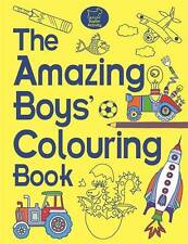 The Amazing Boys' Colouring Book by Jessie Eckel (Paperback, 2014)