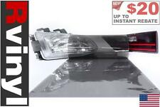 Rtint Smoke Tint Film Wrap for Head Tail Fog Lights Clear Lens Housing & More