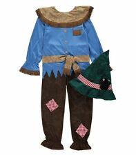 New The Wizard of Oz Scarecrow Fancy Dress Costume Age 7 - 8 Years