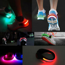 LED Luminous Cycling  Shoe  Night  Clip Light Running Sports Safety Warning