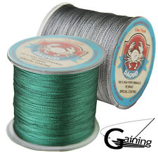 Japanese Super Strong PE Braided Fishing Line 500m Multifilament Green Fish Line
