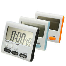 New Kitchen Clock Digital LCD Cooking Timer Sport Count-Down Up Clock Loud Alarm