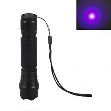 Tactical CREE Green LED Flashlight Torch Pressure Switch Mount Hunting Light Gun