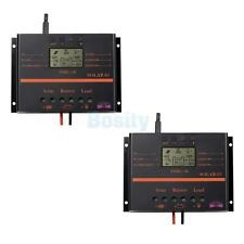 60/80A 12V/24V LCD PWN Solar Regulator Charge Discharge Controll Controller