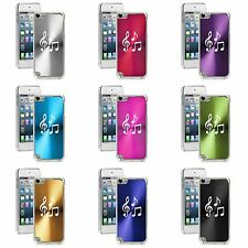 Apple iPod Touch 5th 6th Generation Hard Case Cover Music Notes