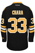 Zdeno Chara Boston Bruins NHL Third Reebok Premier Hockey Jersey
