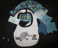 NWT Gymboree Baby Boy Anteater PAL Plaid Hat,BIB or socks 3-6,6-12,or 12-18 mos
