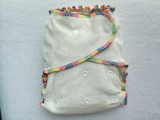 Beilesen Bamboo Velour Fitted Reusable Nappy One Size Cloth Diaper