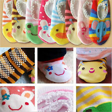 Cartoon Boy Girl Baby Skidproof Toddler Durable Room Socks Shoes Infant Booties