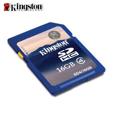 Kingston 8GB 16GB 32GB SDHC Flash Memory Card Class 4 C4