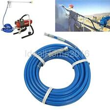 "10/15m 1/4"" Airless Paint Sprayer Gun Hose Fiber Tube Pipe f/ Graco Wagner Titan"