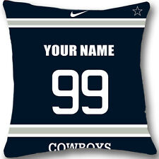 Custom zippered Dallas Cowboys Pillow Case With Your Name and Numbers L956