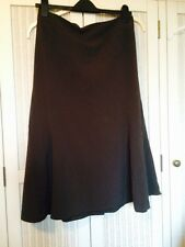 Brown Fit & Flare Fishtail Skirt, Fully Lined, Gorgeous, 18