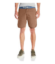 Quiksilver Mens Street Trunk Scallop Casual Walking Shorts