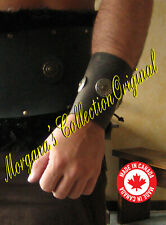 "Medieval Armor Viking Barbarian 4"" Bracers with Conchos"