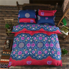 Ethnic Style Pillowcase Quilt Duvet Cover Bed Set Bedlinen All Size htxs L