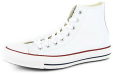 New Men's Converse Chuck Taylor Leather Hi White Footwear Hi-top Sneakers Boots