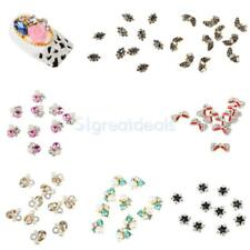 10pcs Nail Art Rhinestones Glitter 3D Tips DIY Decoration Manicure Accessories