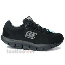 Shoes Skechers Liv So Spacey 99999830 BBK Black women's comfort moda Shape Ups