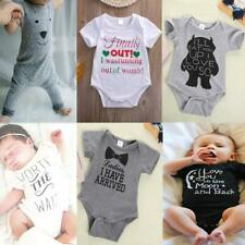 Newborn Baby Girls Boys Jumpsuit Rompers Outfits Kids Toddler Clothes One-Piece