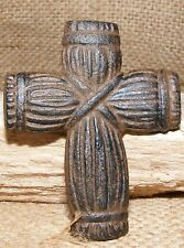 Cross Nail Cast Iron Christian Country Rustic Wall Decor Craft Furniture  #211