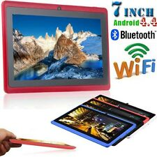 "7"" Dual Camera Wifi Bluetooth Quad Core 1.5H 8GB Google Android 4.4Tablet PC UK"