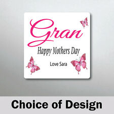 Personalised Grandma Magnet - Mothers day Gift - Birthday, Mothers Day Gift