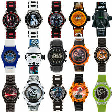 Official Licensed Disney Kids Star Wars Character Watches 15 Characters