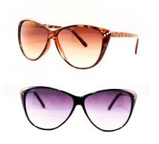 Designer Cat Eye Women's Sunglasses Rhinestones Retro Vintage Tip Pointed 50s