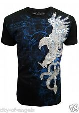 Konflic NWT Men's Eagle & Sword Graphic Designer MMA Muscle T-shirt