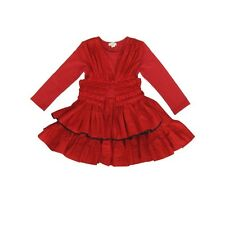 NWT Eliane et Lena Paris Girls Red Nanako Dress 35R09 size 4A, 5A, 6A, 8A