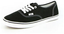 New Men's Vans Authentic Lo-pros Black/white Footwear Lace Shoes Sneakers