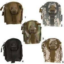 Tactical Molle Pouch Belt Waist Fanny Pack Bag Pocket Military Hunting Running