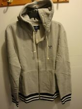 NWT MEN AMERICAN EAGLE AE FLEECE HOODIE GREY M,XL