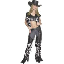 Adult Cow Print Cowgirl Costume