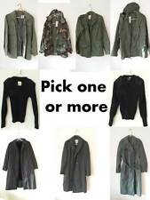 Military/Army Uniform field jacket/overcoat/raincoat/fatigue BDU mens womens SM