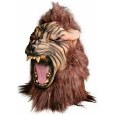 Scary Big Bad Wolf Howling Costume Mask