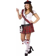 Adult Plus Size Sexy Scottish Shot Girl Costume