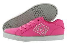 DC Chelsea TX 303344B-HPN Pink Canvas Casual Skate Fashion Shoes Medium Youth