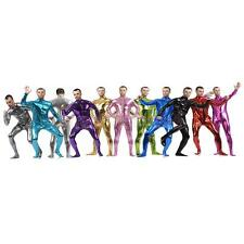 Zentai Outfit Spandex Skin Bodysuit Halloween Party Outfit Fancy Dress