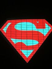 Superman Sound Activated LIGHTS UP LED T-Shirt ALL SIZES Wireless