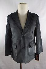 Toddlers Boys Corduroy Blazer Jacket Elbow Patches All Sizes Black Navy Charcoal
